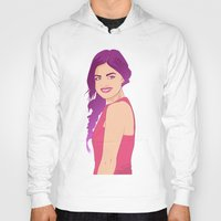 pretty little liars Hoodies featuring Pretty little liars - Lucy Hale by Lais Design