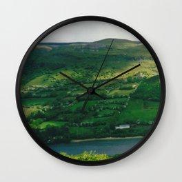 Wandering Free Through Ireland's Countryside Wall Clock