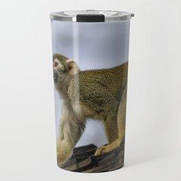 Monkey on the Roof Travel Mug