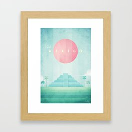Mexico Framed Art Print
