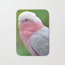 Beautiful Rose Breasted Cockatoo Bath Mat
