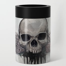 Skull + Roses Can Cooler
