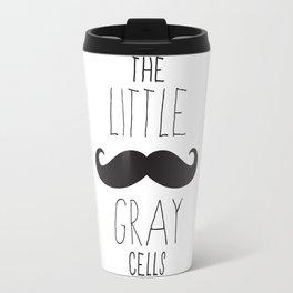 Poirot - The Little Gray Cells Travel Mug