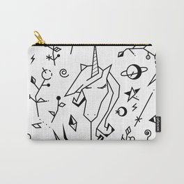 Space Unicorn Carry-All Pouch