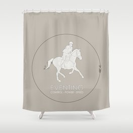 Eventing Shower Curtain