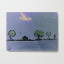 Nighttime Peace Metal Print