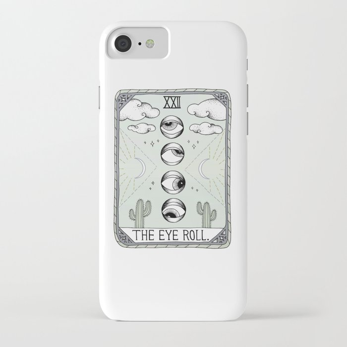 the eye roll iphone case