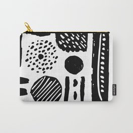 Abstract Hand Drawn Patterns No.3 Carry-All Pouch