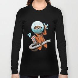 Space Otter Long Sleeve T-shirt