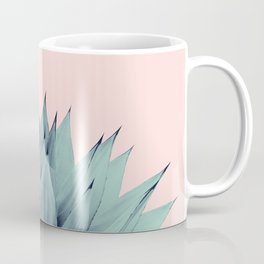 Agave Blush Summer Vibes #1 #tropical #decor #art #society6 Coffee Mug