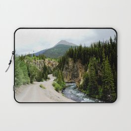 Crossing the Animas River to the Mayflower Mine Laptop Sleeve