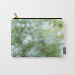 Flowers & Swirl Carry-All Pouch
