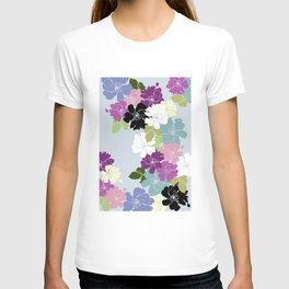 Purple Poppy Toss T-shirt