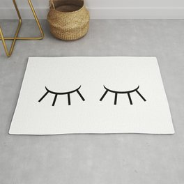 Sleepy eyes Rug