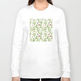 Easter Bunny Garden Long Sleeve T-shirt