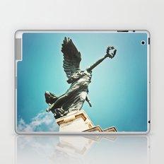 Statue in Rome Laptop & iPad Skin