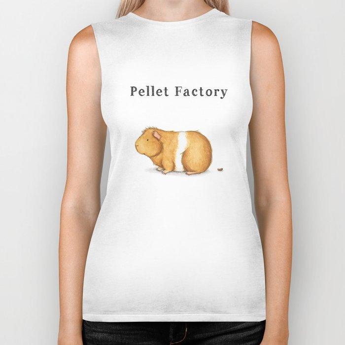 Pellet Factory - Guinea Pig Poop Biker Tank