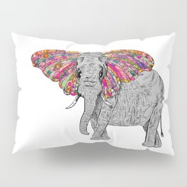 Bella The Happy Butterphant Pillow Sham
