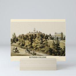 Rutgers 1849 Mini Art Print