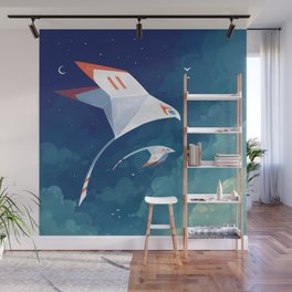 Flyby Wall Mural