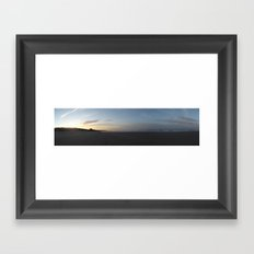 Castle by the sea Framed Art Print