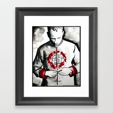 The Passion of Mr Gone  Framed Art Print