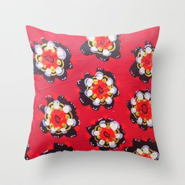 Nevada Rose Throw Pillow