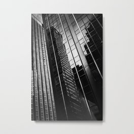 Dark Towers Metal Print