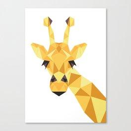 a giraffe Canvas Print