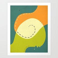WAYWARD (2) Art Print