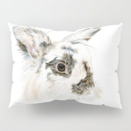 Pixie the Lionhead Rabbit by Teresa Thompson Pillow Sham
