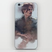 johnny depp iPhone & iPod Skins featuring Johnny Depp by Singhooi