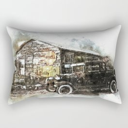 Automobile Arizona Antique Rectangular Pillow