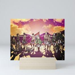 Attack On Titan Ymir Sasha Mini Art Print