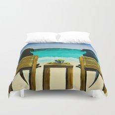 Beach Bums Duvet Cover