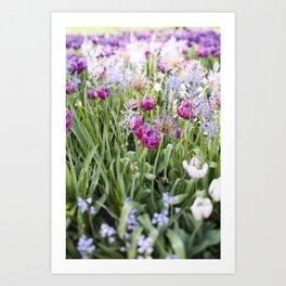 Spring Floral  //  The Botanical Series Art Print
