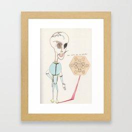 noii Framed Art Print