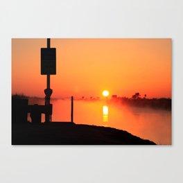 Everglades Sunrise Canvas Print