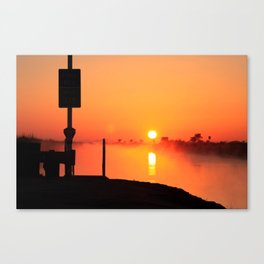 Everglades Sunrise Canvas Print