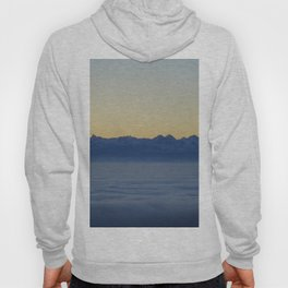 Mountains above the clouds Hoody
