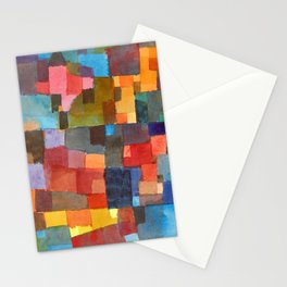 Paul Klee - Raumarchitekturen - Room Architectures Stationery Cards