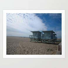 ZUMA BEACH SKIES Art Print
