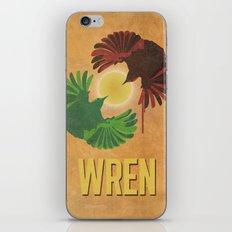 Wrens iPhone & iPod Skin