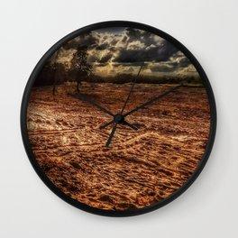 Texas Sand Box Wall Clock