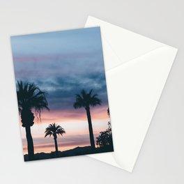 Palm Tree Sky Sunset Stationery Cards