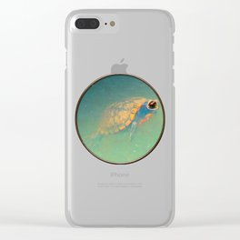 Turtle Clear iPhone Case