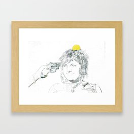 So this is how it ends. Framed Art Print
