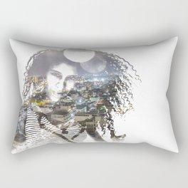 double exposure PV - C Rectangular Pillow