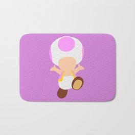 Pink Toad (Super Mario) Bath Mat