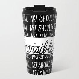 """""""Black Art""""-2 Travel Mug"""